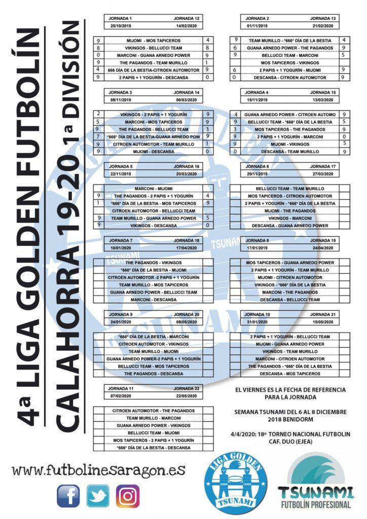 Calendario Calahorra 1ª Div modi.