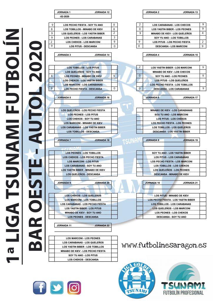 Calendario-Liga-AUTOL-2020 MODI